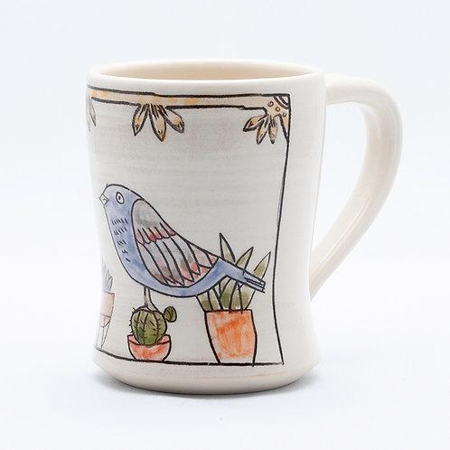 Large Mug, Bird series