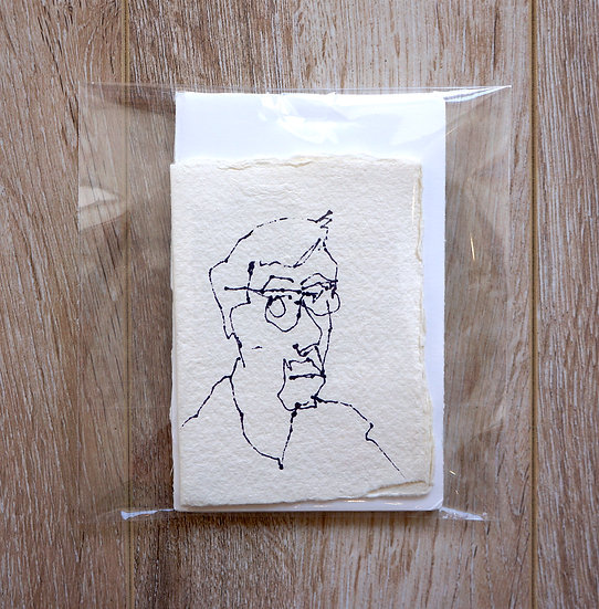 Original Drawing - Mini Card