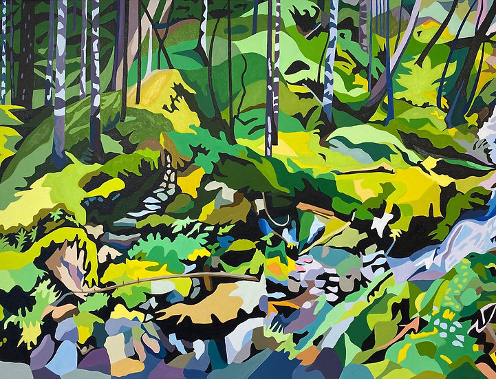 Abstracted Brothers Brook