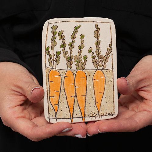 Tile, Large Carrots