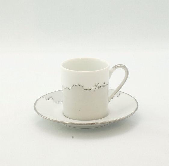 Espresso Cup - Moncton Skyline