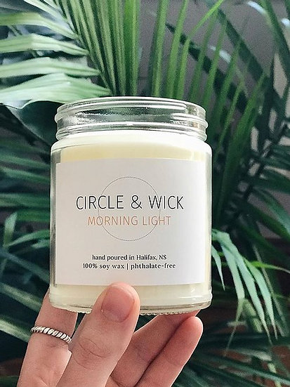 Morning Light, Wick & Candle co.