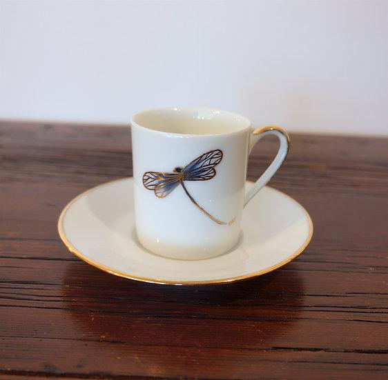 Espresso Cup - Dragonfly