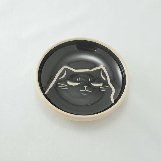 Content Cat Ring Dish