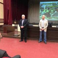 Ветеранов-автомобилистов поздравляет Новиков Ю.С.