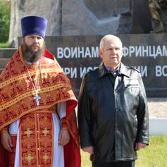 Член совета ветеранов на митинге к ДНЮ РОССИИ