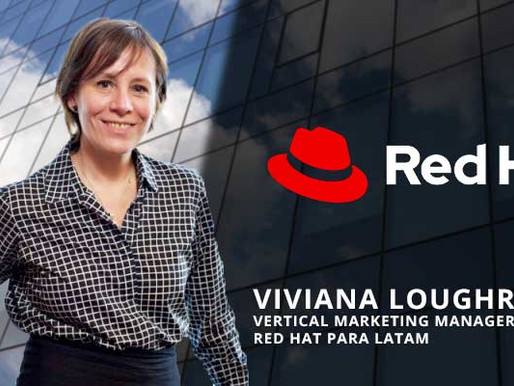 VIVIANA LOUGHRY, ES ASCENDIDA A VERTICAL MARKETING MANAGER DE RED HAT PARA LATAM
