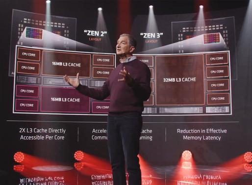 AMD DA EL GRAN SALTO Y PRESENTA LOS PROCESADORES RYZEN 5000