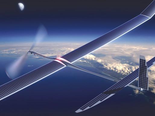 GOOGLE DA ACSESO A INTERNET 5G A TRAVÉS DE DRONES SOLARES