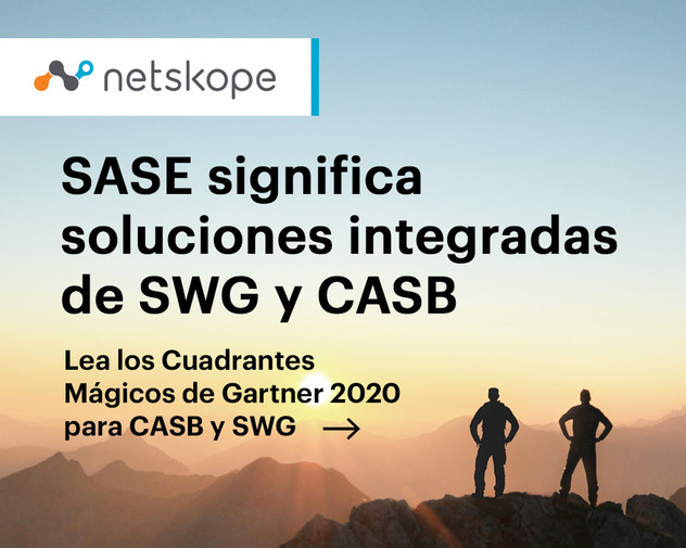 SASA significa soluciones integradas SWG y CASB