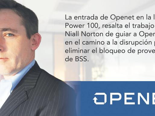 EL CEO DE OPENET ES NOMBRADO EN LA LISTA DE LAS 100 PERSONAS MÁS PODEROSAS EN TELECOMUNICACIONES