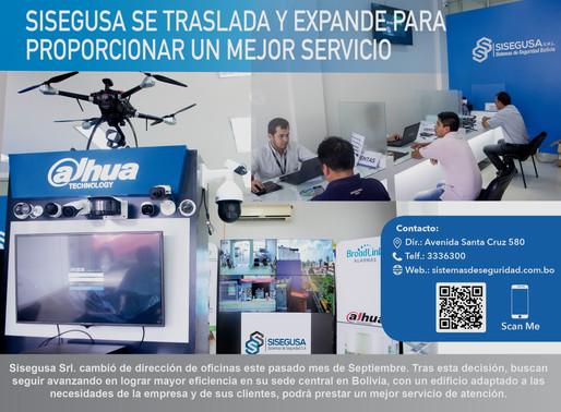 SISEGUSA PRESENTA SU SEDE          CENTRAL EN BOLIVIA