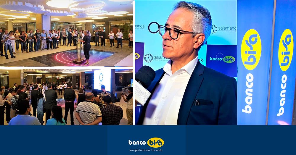 Fotografía: Franco Urquidi, Vocepresidente de Negocios del Banco Bisagocios del Banco Bisa