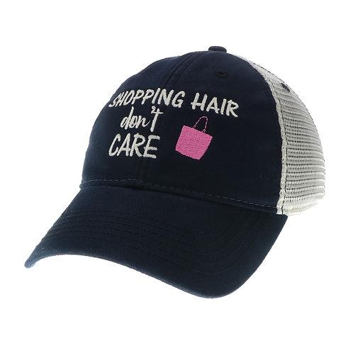 Shopping Hair Don't Care Trucker (Black or Driftwood)