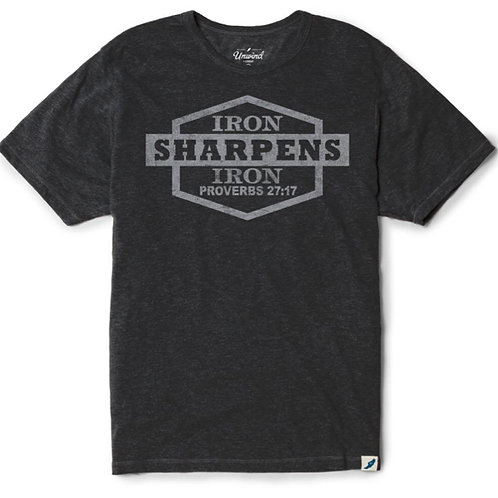 Proverbs 27:17 Iron Sharpens Iron Tee