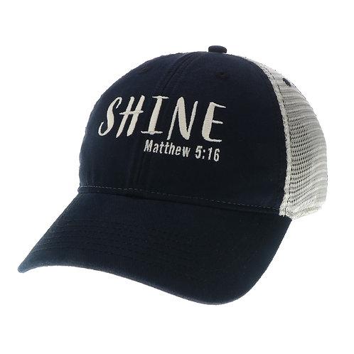Shine Trucker (Black or Light Blue)