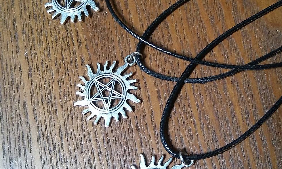Sun Pentagram Necklace