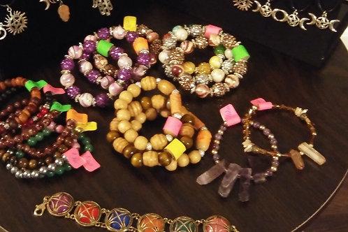 Crystal Infused Blessed Bracelets