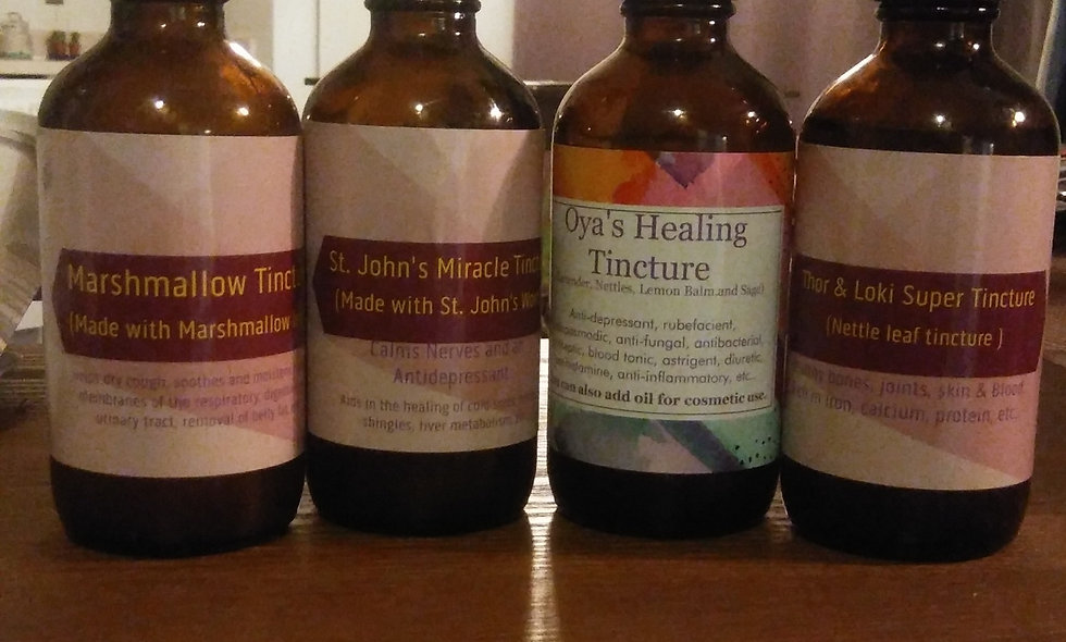 Laniece's Holistic Herbal Tinctures