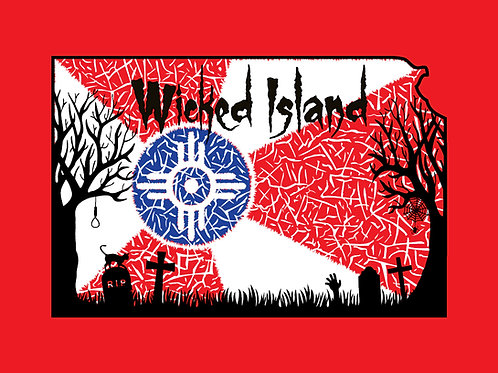 T-Shirt - Wicked Wichita Flag