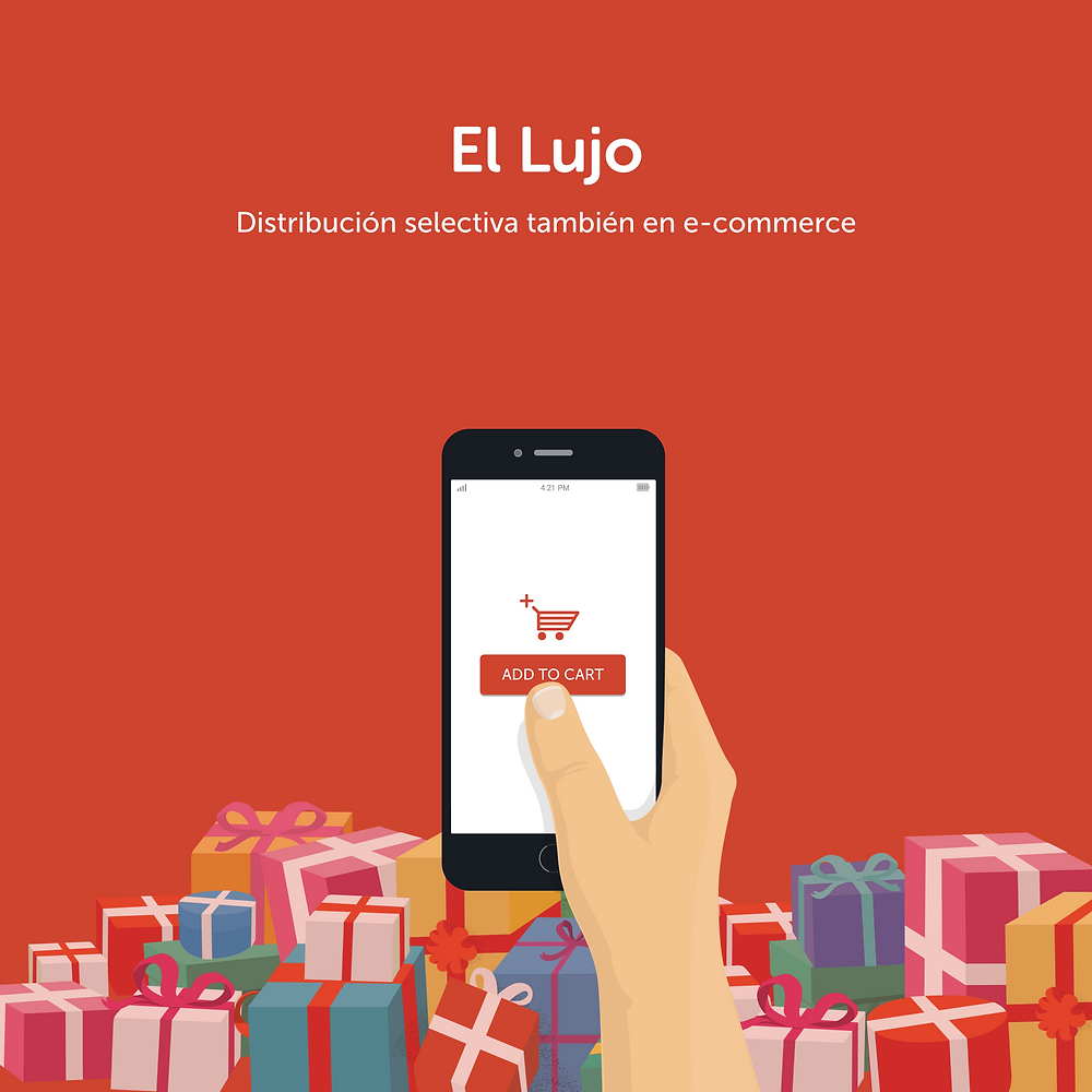 e-commerce, TJUE, productos lujo