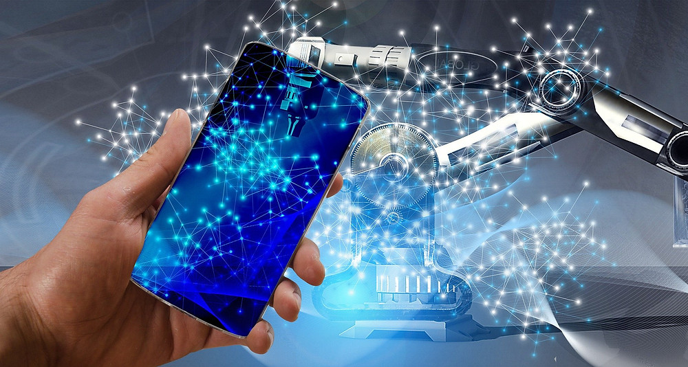IA, inteligencia artificial, robots, reconocimiento facial, identificación biométrica