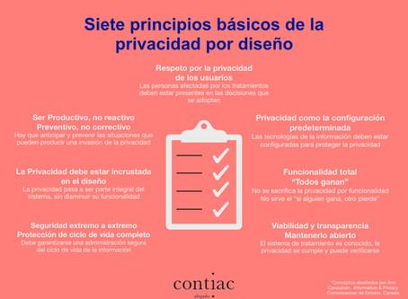 ¿Conoces los siete principios básicos de la privacidad por diseño?