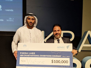 ADNEC's (Abu Dhabi National Exhibition Company) awarded VIAFONE with a prize for building the first AI Chat-bot for events stakeholders