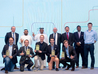 Awarded DEWA (Dubai Electricity Water Authority) Future Utility Cup 2016