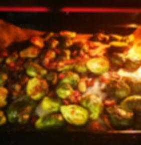 כרוב ניצנים צלוי בתנור
