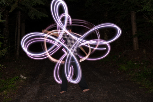 White LED Poi