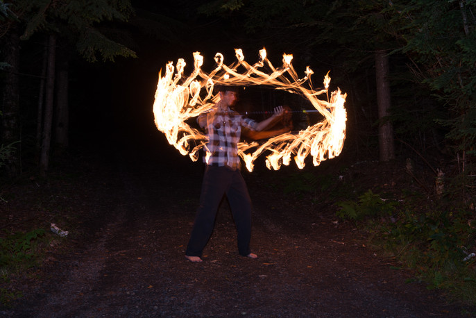 Fire Dragon Staff