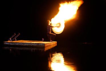 Fire Poi Breath