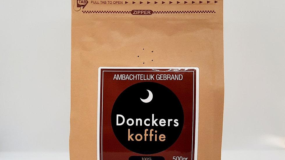 100% Arabica Gemalen Direct Trade, verpakking 16 x 500gr.