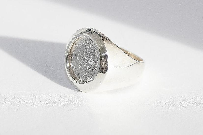 Maat 19,75 mm. Geleverd in mooi geschenkverpakking. Verzekerde verzending in Bel