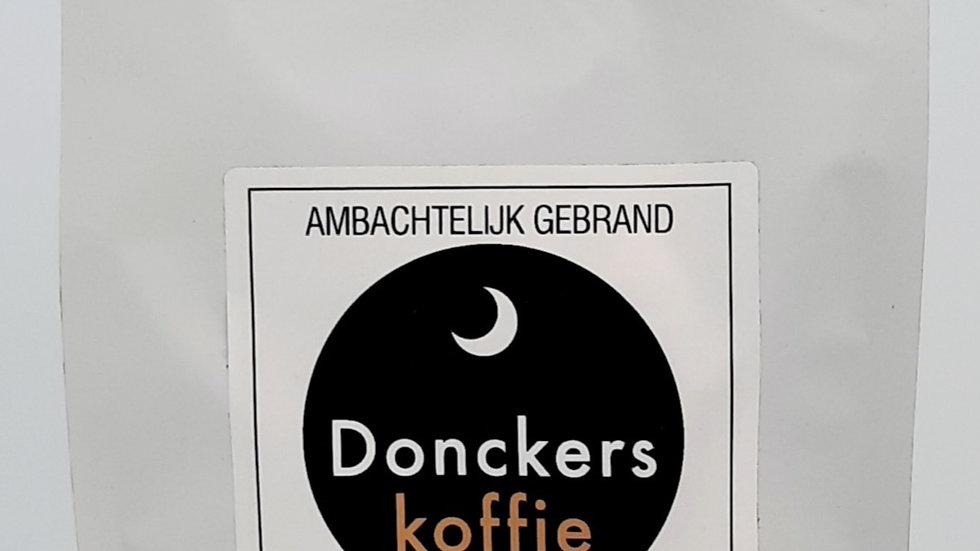 Zeer fijn Gemalen Donckers Koffie, verpakking 8  x 1kgr.