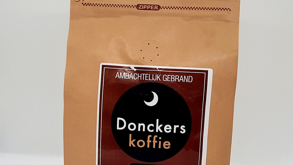 100% Arabica Bonen Direct Trade, verpakking 16 x 500gr.