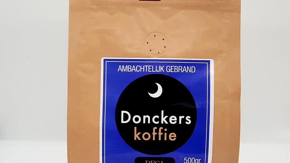 DECA Donckers Koffie Gemalen SWISS Water , verpakking 16 x 500gr.