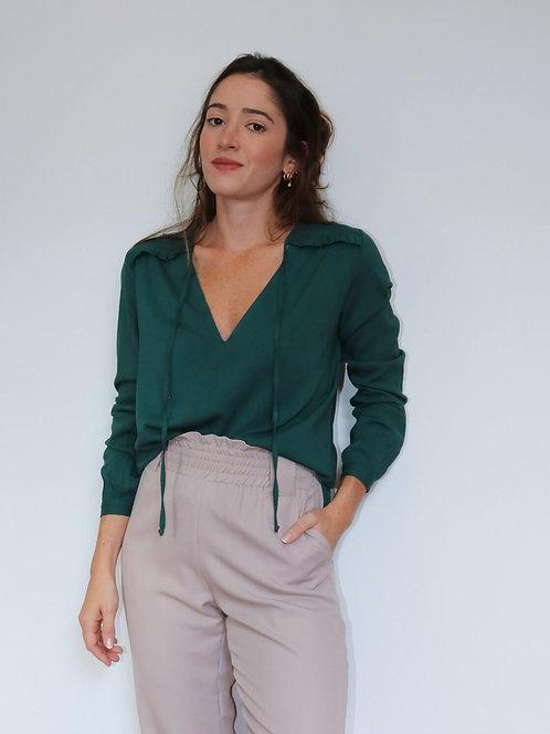 Blusa ML Verde Bela