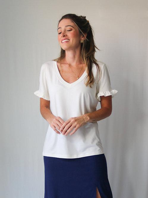 T-shirt Elisa Off White