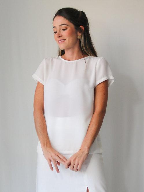 Blusa Fiorella Off White