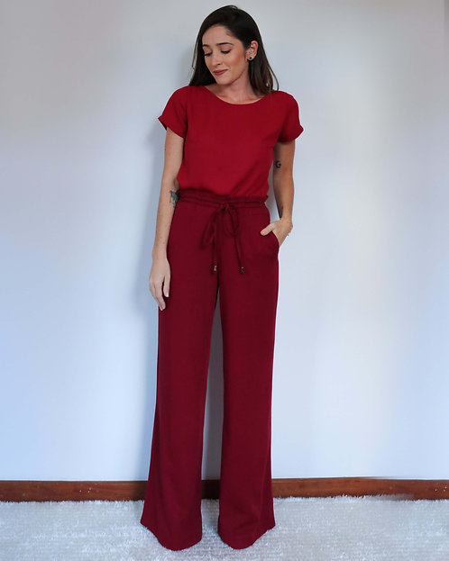 Pantalona Camila Bordô
