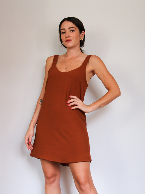 Vestido Karine Chocolate
