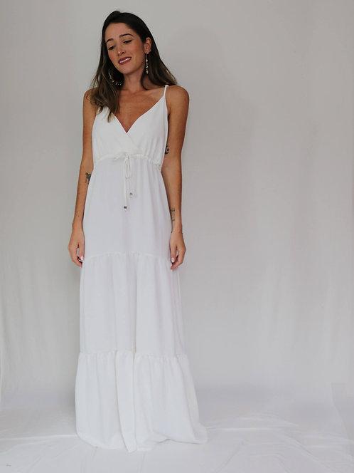 Vestido Longo Carmen Off White
