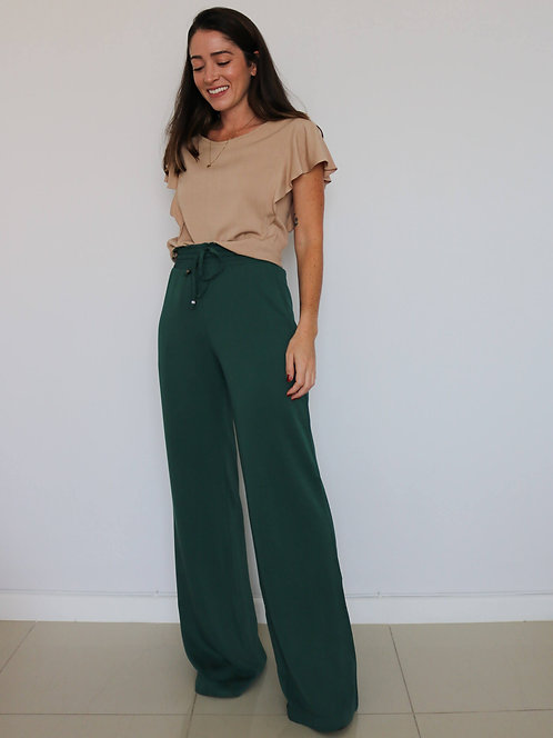Pantalona Camila Verde