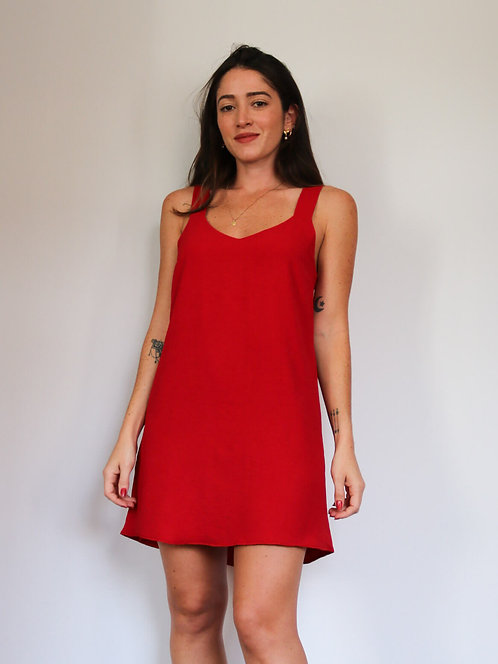 Vestido Karine Vermelho