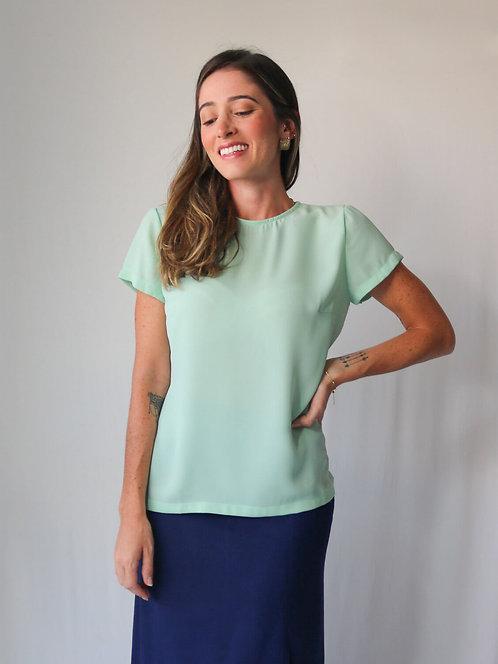 Blusa Fiorella Verde