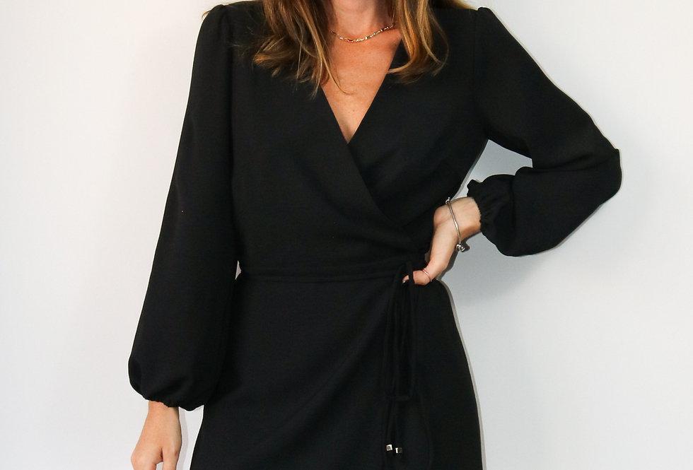 Vestido Charlotte Preto