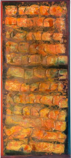 Shoal by Frank Bowling