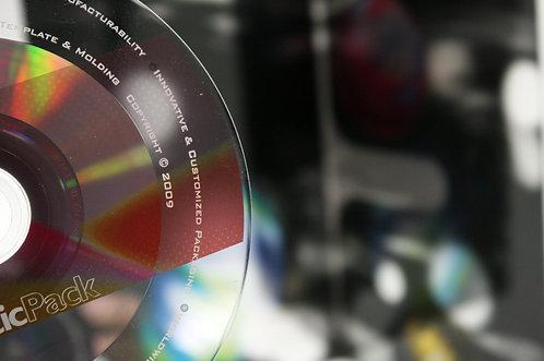ブランクディスクの盤面印刷